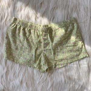 Xhilaration Sleep Shorts Boxers, Light Green, L